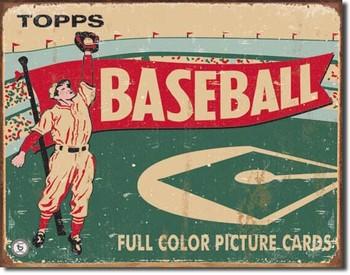 TOPPS - 1954 baseball Metallskilt