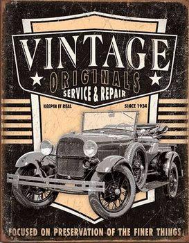 Vintage Originals - Pickup Metallskilt