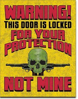 Door is Locked Metalni znak