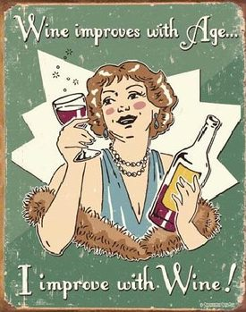 SCHONBERG - wine improved Metalni znak