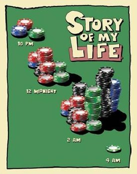 SOML - poker night Metalni znak