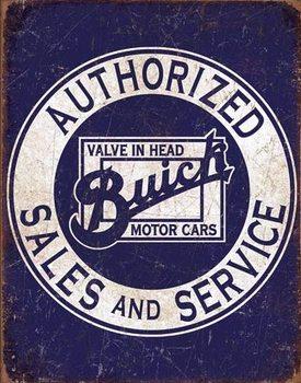 Metalowa tabliczka Buick - Valve in Head