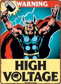 Metalowa tabliczka Marvel - Thor