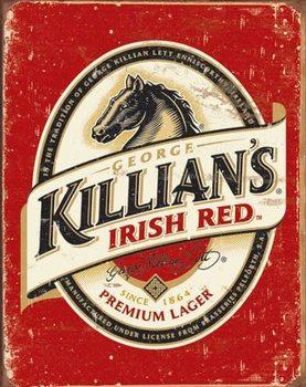 Metalskilt Killian's Beer Logo