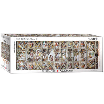 Puslespill Michelangelo - The Sistine Chapel Ceiling