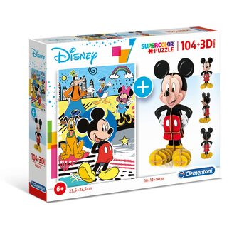 Puslespill Mickey Mouse