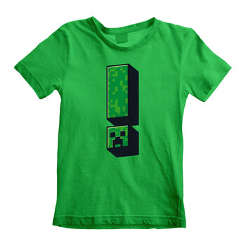 T-Shirt Minecraft - Creeper Exclamation