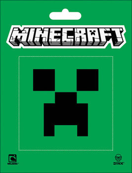 Minecraft - creeper Autocolant