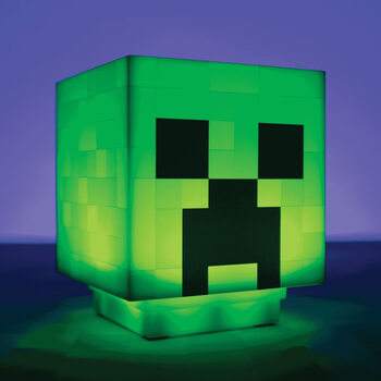 Leuchtfigur Minecraft - Creeper