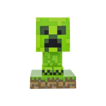 Statuetta che si illumina Minecraft - Creeper