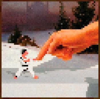 Minecraft - Hand - плакат (poster)