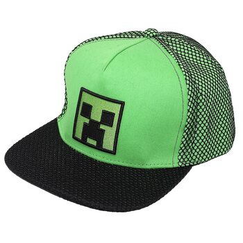 Basecap Minecraft - High Build Embroidery