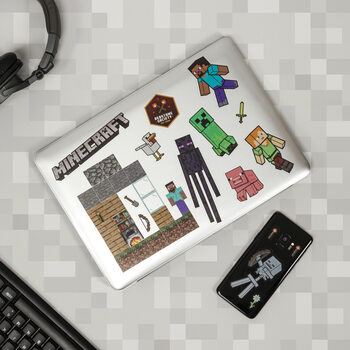 Αυτοκόλλητο Minecraft