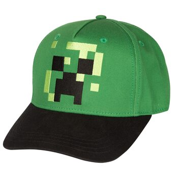 Minecraft - Pixel Creeper Kasket