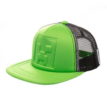 Casquette Minecraft - Who's Deboss Creeper