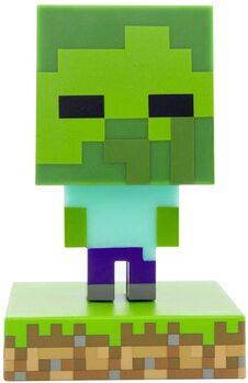 Glødende figur Minecraft - Zombie