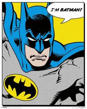 BATMAN - quote Mini plakat