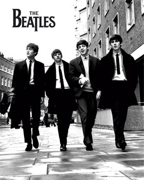 Beatles - in london Mini plakat