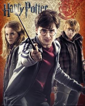 HARRY POTTER 7 - trio Mini plakat