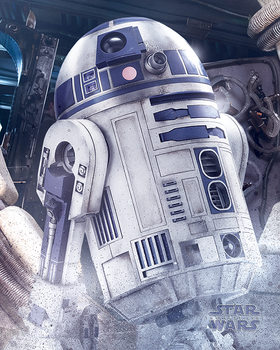 Star Wars: Episode 8 The last Jedi - R2-D2 Droid Mini plakat