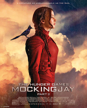 The Hunger Games 3: Mockingjay del 2 - The Mockingjay Mini plakat