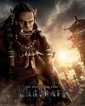 Warcraft: The Beginning - Durotan Mini plakat