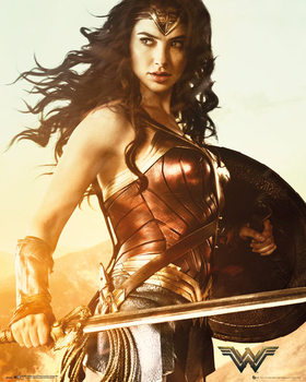 Wonder Woman - Sword Mini plakat