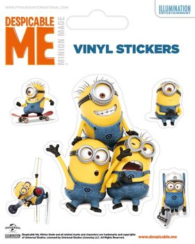 Minions (Despicable Me) - Minions Doing Autocolant