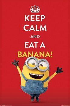 Minions - Keep Calm - плакат (poster)