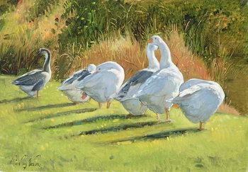 Moat Edge, Bedfield Festmény reprodukció