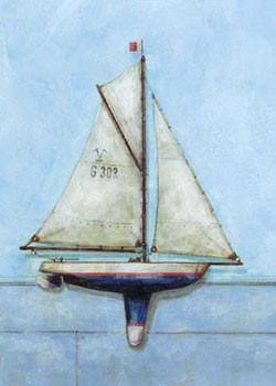 Model Boat Festmény reprodukció