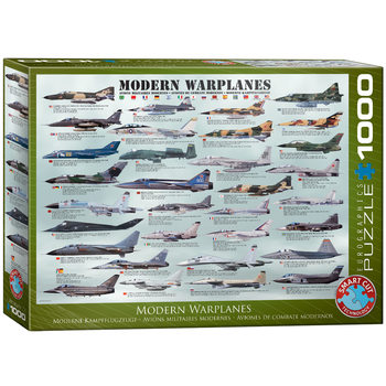 Sestavljanka Modern Warplanes