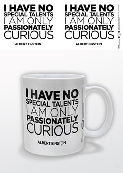 Albert Einstein - Only Curious mok