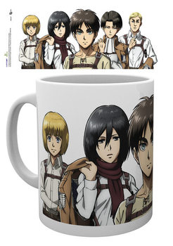 Attack on Titan (Shingeki no kyojin) - Lineup mok