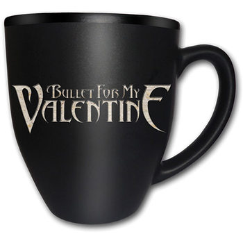 Bullet For My Valentine – Logo Matt Engraved mok