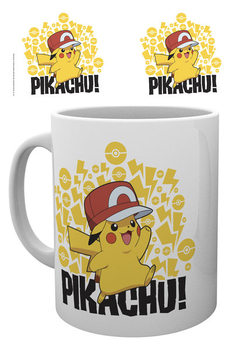 Pokemon - Ash Hat - Pikachu mok