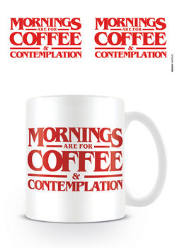 Stranger Things - Coffee and Contemplation mok