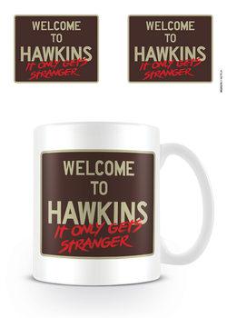 Stranger Things - Welcome To Hawkins mok
