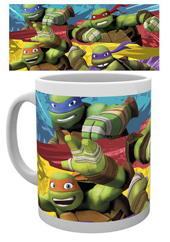 Teenage Mutant Ninja Turtles - Logo mok
