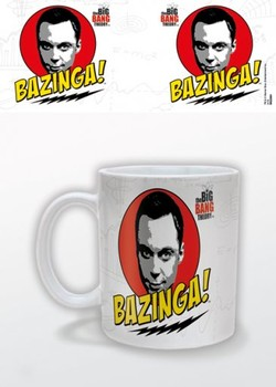 The Big Bang Theory - Bazinga mok