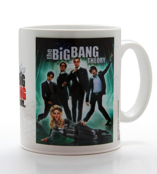 The Big Bang Theory - Glam mok