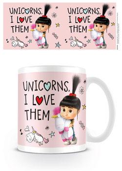 Verschrikkelijke Ikke 3 - Unicorns I Love them mok