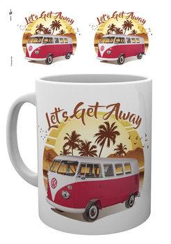 VW Camper - Lets Get Away Sunset mok