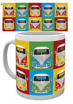 VW Volkswagen Camper - Campers colours p. mok