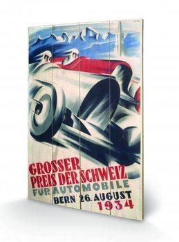 Monaco - 1941 plakát fatáblán