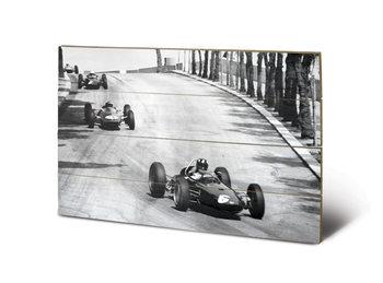 Poster su legno Monaco - New Promenades