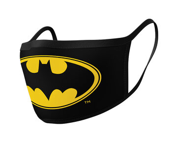 Mondkapjes Batman - Logo (2 pack)