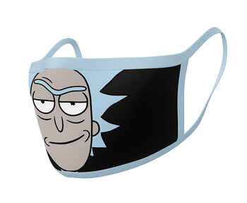 Mondkapjes Rick & Morty - Rick (2 pack)