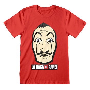 Tricou Money Heist (La Casa De Papel) - Mask and Logo