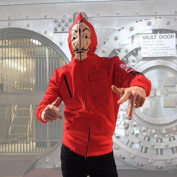 Mikina Money Heist (La Casa De Papel) - Mask